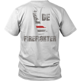 Delaware Firefighter Thin Red Line Shirt - Thin Line Style