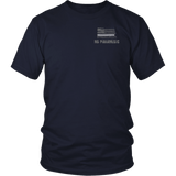 North Dakota Paramedic Thin White Line Shirt - Thin Line Style