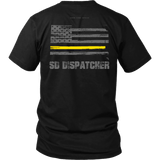 South Dakota Dispatcher Thin Gold Line Shirt - Thin Line Style