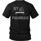 New York Paramedic Thin White Line Shirt - Thin Line Style