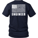 Fire Rescue Engineer Duty Shirt - Thin Line Style