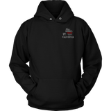 Wisconsin Firefighter Thin Red Line Hoodie - Thin Line Style