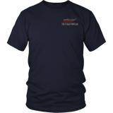 Tennessee Firefighter Thin Red Line Shirt - Thin Line Style