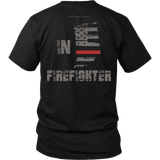 Indiana Firefighter Thin Red Line Shirt - Thin Line Style
