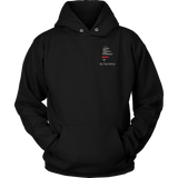 Maine Firefighter Thin Red Line Hoodie - Thin Line Style