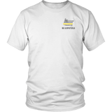Oregon Dispatcher Thin Gold Line Shirt - Thin Line Style