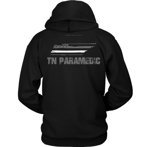 Tennessee Paramedic Thin White Line Hoodie - Thin Line Style