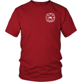Fire Rescue Firefighter Medic Duty Shirt - Thin Line Style