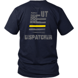 Utah Dispatcher Thin Gold Line Shirt - Thin Line Style