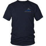 Virginia Law Enforcement Thin Blue Line Shirt - Thin Line Style