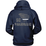 South Carolina Paramedic Thin White Line Hoodie - Thin Line Style