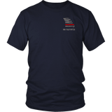 Missouri Firefighter Thin Red Line Shirt - Thin Line Style