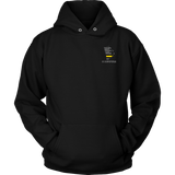 Rhode Island Dispatcher Thin Gold Line Hoodie - Thin Line Style