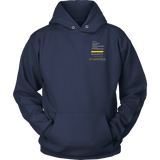 Utah Dispatcher Thin Gold Line Hoodie - Thin Line Style