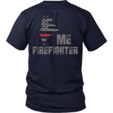Maine Firefighter Thin Red Line Shirt - Thin Line Style