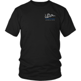 Join or Die Thin Blue Line Law Enforcement Shirt - Thin Line Style