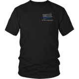Pennsylvania Law Enforcement Thin Blue Line Shirt - Thin Line Style