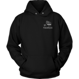 Wisconsin Paramedic Thin White Line Hoodie - Thin Line Style