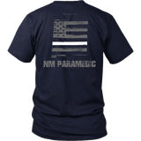 New Mexico Paramedic Thin White Line Shirt - Thin Line Style