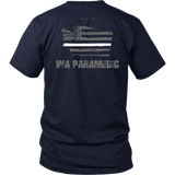 Washington Paramedic Thin White Line Shirt - Thin Line Style