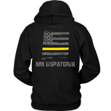 New Mexico Dispatcher Thin Gold Line Hoodie - Thin Line Style