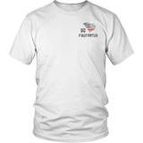 South Carolina Firefighter Thin Red Line Shirt - Thin Line Style