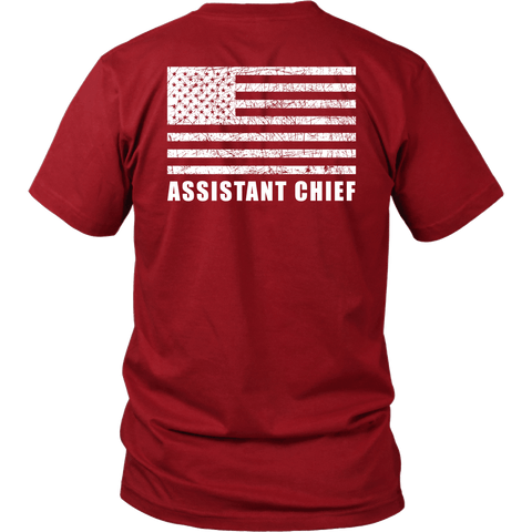 Fire Rescue Assistant Chief Duty Shirt - Thin Line Style