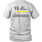 Virginia Dispatcher Thin Gold Line Shirt - Thin Line Style