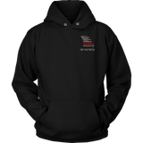 Missouri Firefighter Thin Red Line Hoodie - Thin Line Style