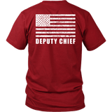 Fire Rescue Deputy Chief Duty Shirt - Thin Line Style