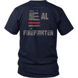 Alabama Firefighter Thin Red Line Shirt - Thin Line Style