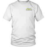 Tennessee Dispatcher Thin Gold Line Shirt - Thin Line Style