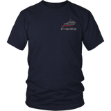 Kentucky Firefighter Thin Red Line Shirt - Thin Line Style