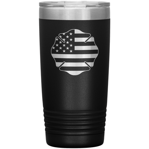 Maltese Cross Firefighter Tumbler