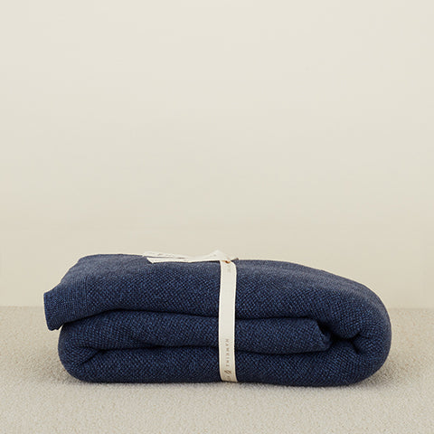 SIMPLE KNIT OVERSIZED THROW