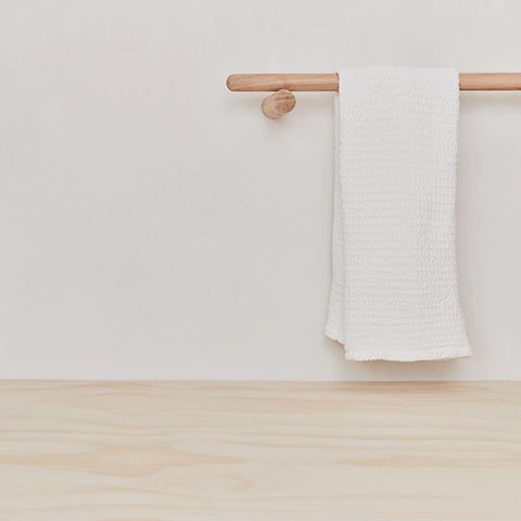 SIMPLE WAFFLE TOWELS