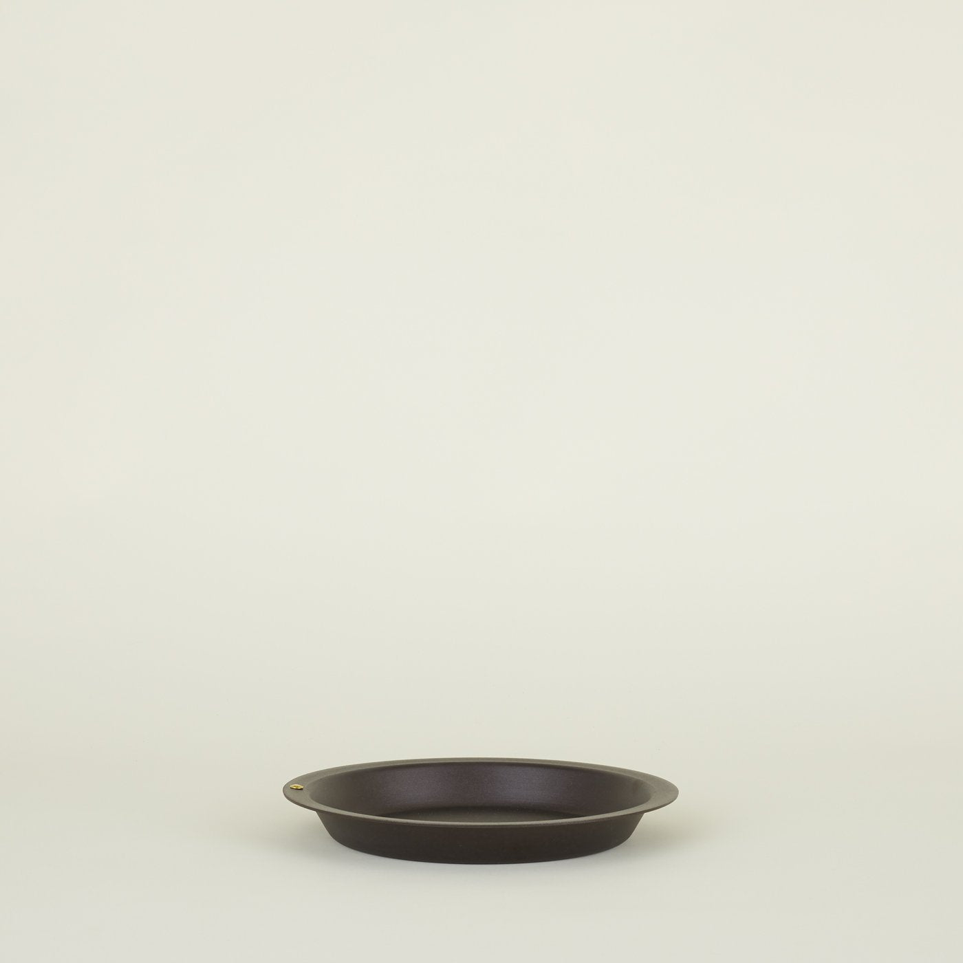 SPUN IRON PIE DISH
