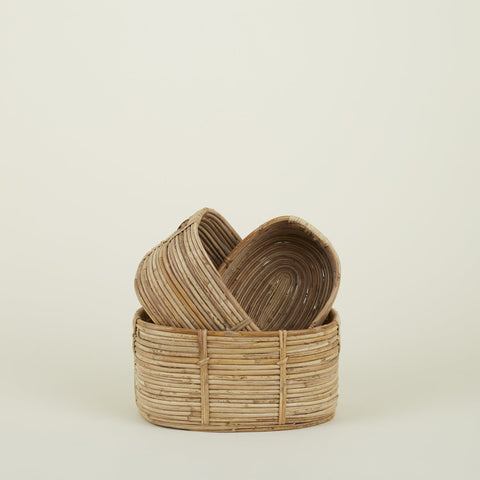 CHAKA BASKETS - SET OF 3