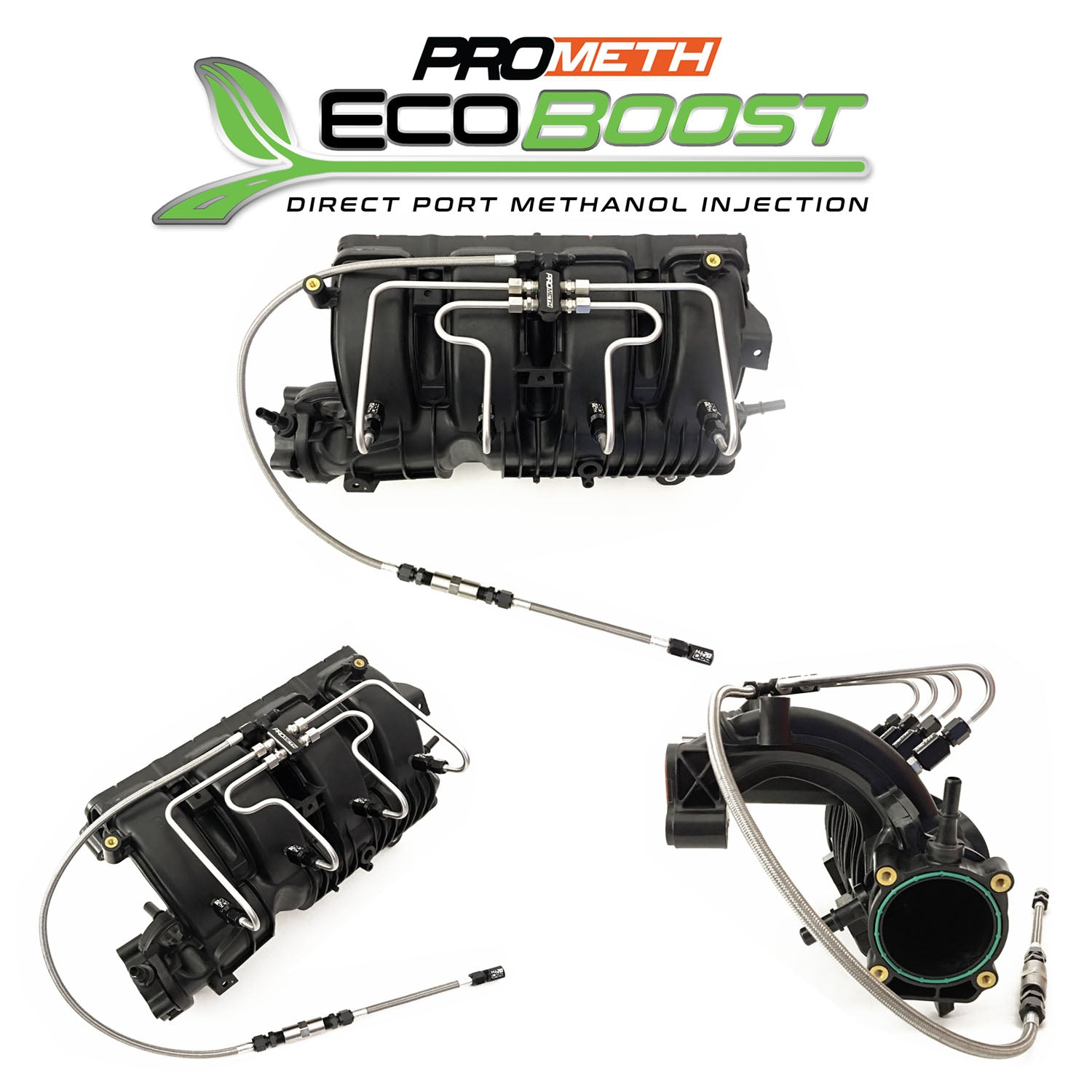 Ford Mustang Ecoboost Direct Port Methanol Injection System With Pre Compressor Nozzle