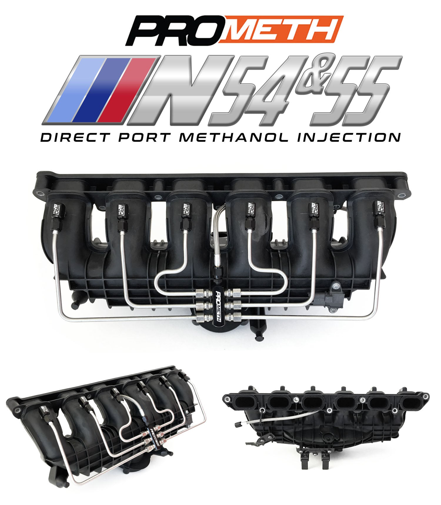 BMW N54 And N55 Direct Port Water Methanol Injection 135i 335i