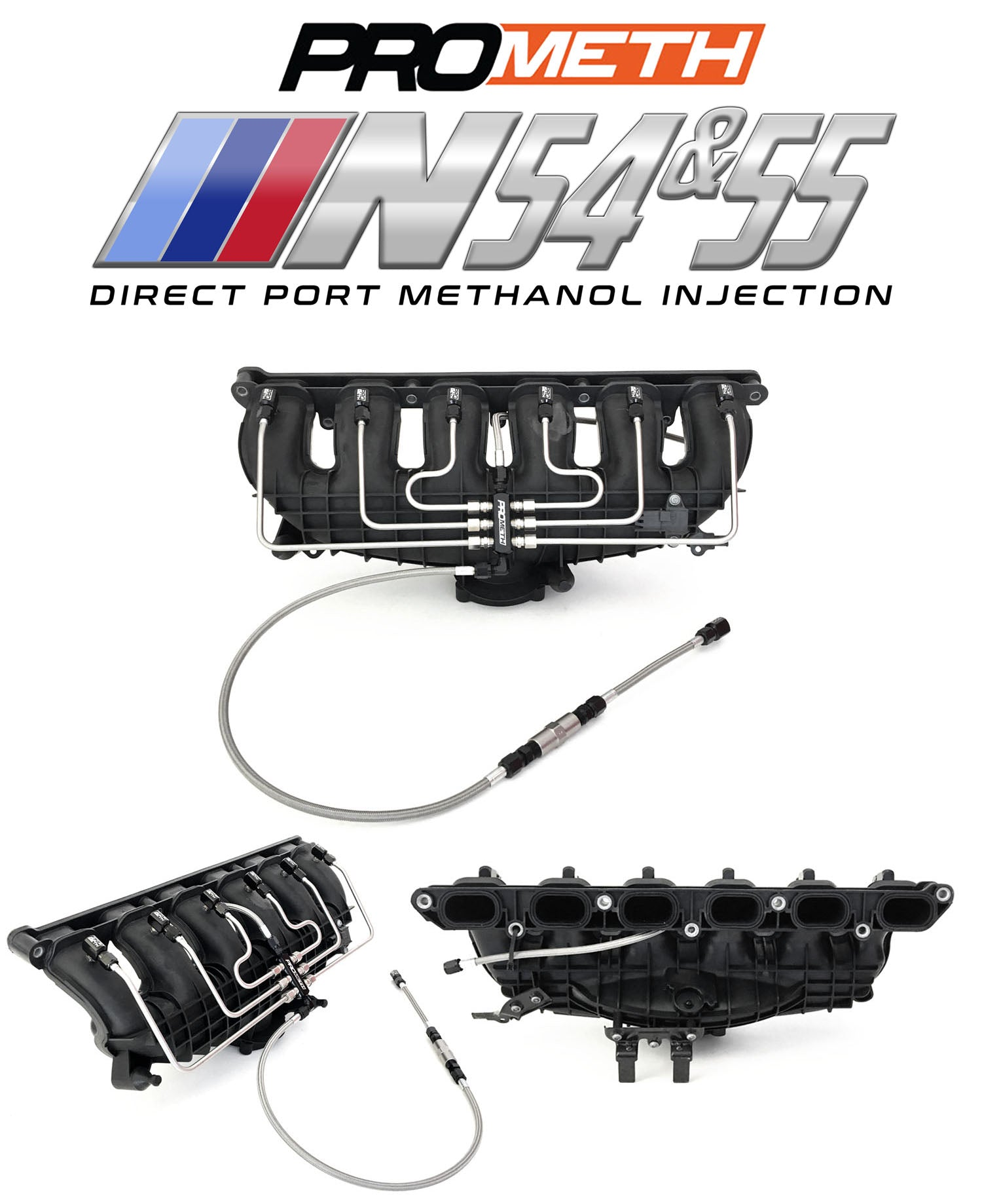 BMW N54 And N55 Direct Port Water Methanol Injection