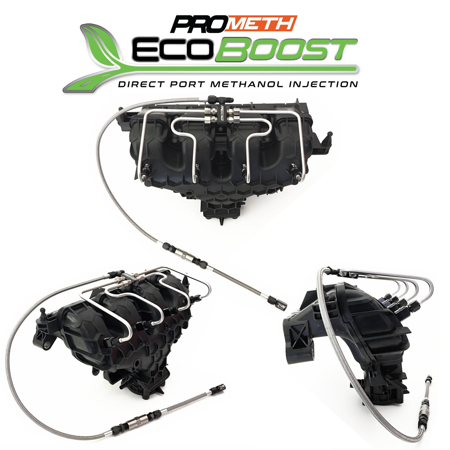 Ford SVT Focus Ecoboost 2.0L Direct Port Methanol Injection With Pre Compressor Injection