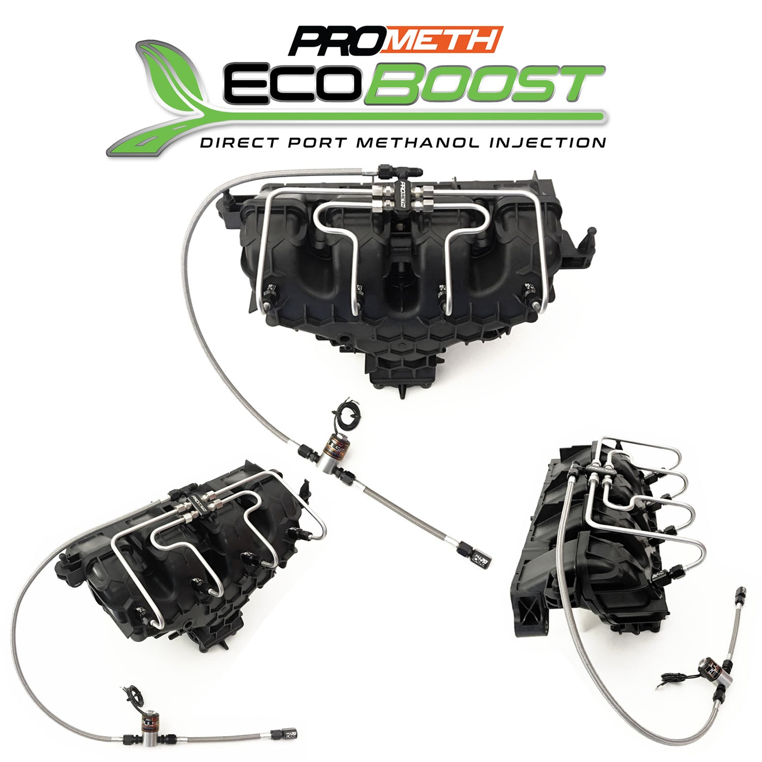 Ford SVT Focus 2.0L Ecoboost Direct Port Methanol Injection With 2nd Stage