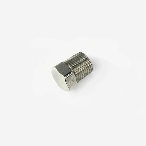 1/8 NPT Male To 7/16 Hex Plug Fitting