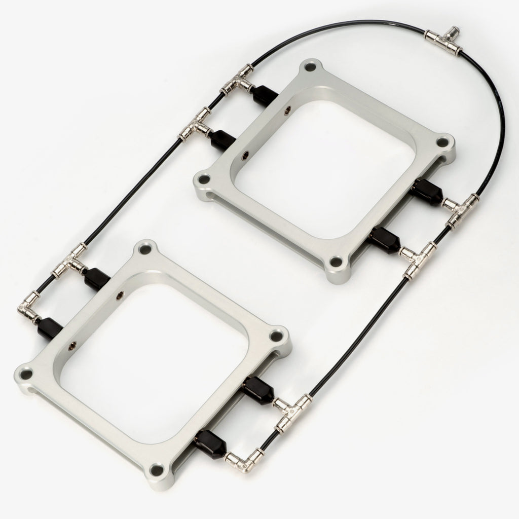 Dual Holley 4500 Dominator Water Methanol Injection Plates
