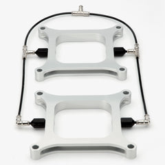 Dual Holley 4150 Water Methanol Injection Plates