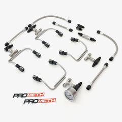 Universal V8 Direct Port Methanol Injection (Pre-Bent)