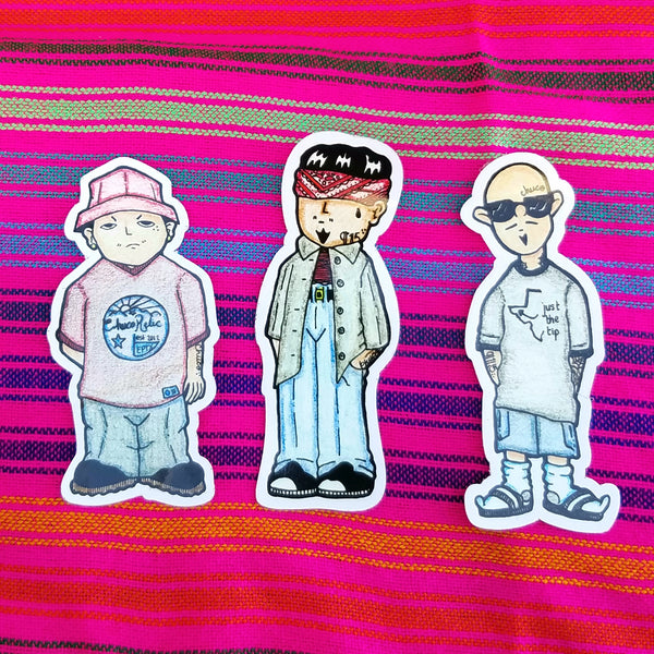 Homies sticker pack