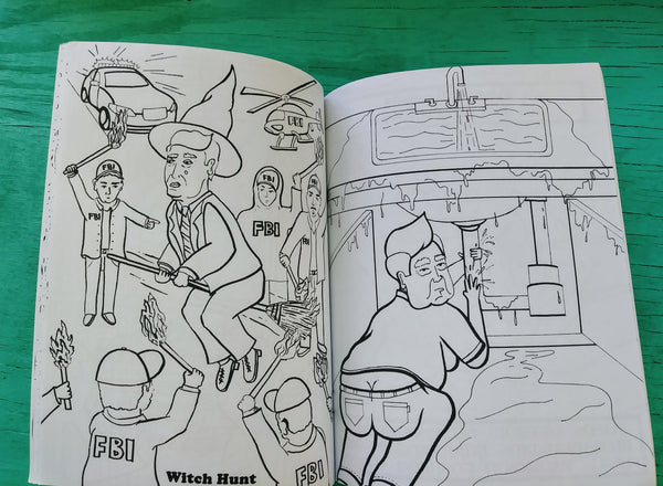 Trump Coloring Book by Andy Diaz