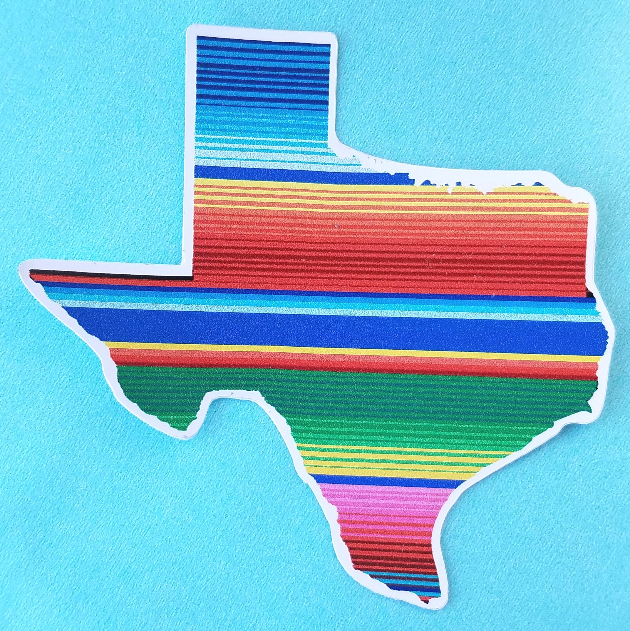 Proper Texas Stickers